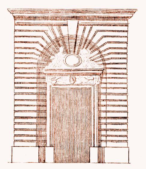 Portali for Finestra rinascimentale disegno